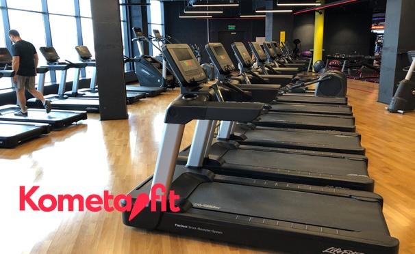 Скидка на Клубные карты на 1 или 12 месяцев в сеть фитнес-клубов Kometa.fit: тренажерный зал, групповые программы, рекомендации тренера и не только! Скидка до 44%