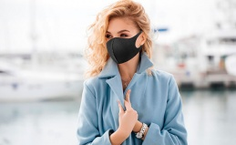 5 многоразовых масок из неопрена