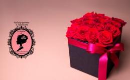 Букеты из роз, гортензий, хризантем