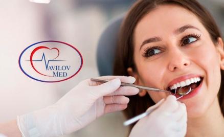 УЗ-чистка зубов с Air Flow