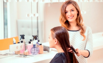 Наращивание волос и окрашивание