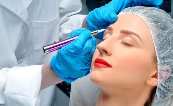 Скидка на Перманентный макияж в студии красоты Milka со скидкой до 82%