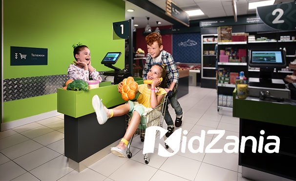 Скидка на Билеты в детскую страну профессий Kidzania для взрослых и детей! Скидка 49%