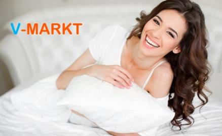 Одеяла или подушки от V-markt