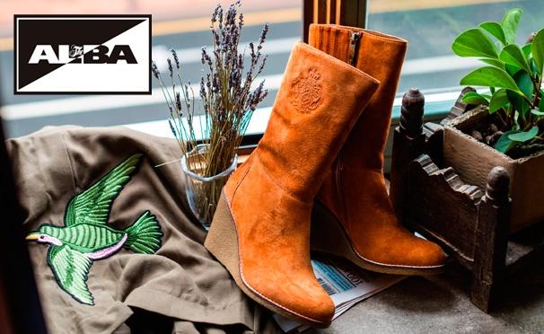 Скидка на Межсезонная распродажа в интернет-магазине ALBA! Скидки до 30% на обувь, сумки и аксессуары + дополнительная скидка 10% при подписке на новости