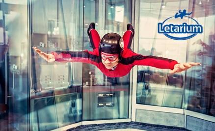 Полет в аэротрубе «Летариум»