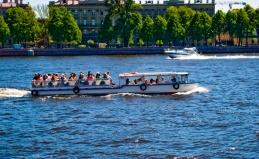 Экскурсии по рекам Санкт-Петербурга