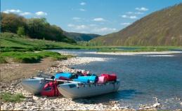Рафтинг по реке Иркут
