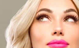Наращивание ресниц и макияж