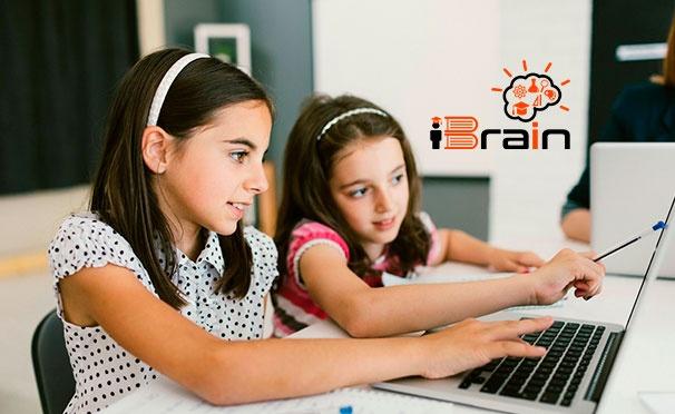 Скидка на Онлайн-курсы английского, китайского, испанского и немецкого от онлайн-школы iBrain со скидкой до 75%