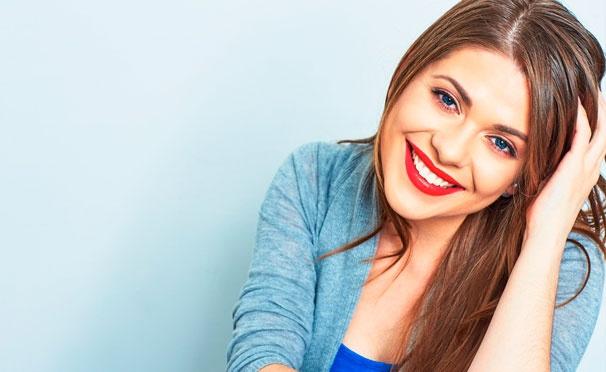 Скидка на Услуги стоматологической клиники «ГалаДент»: гигиеническая чистка зубов методом Air Flow + отбеливание Advanced Whitening Kit для одного или двоих. Скидка до 84%