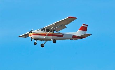 Полёты на самолёте и пилотирование