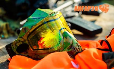 «Ангар-28»: игра в пейнтбол