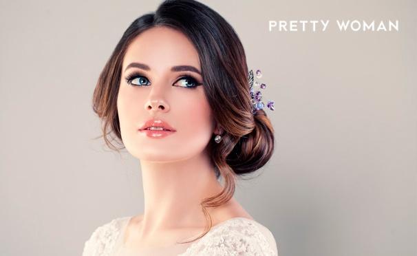 Скидка на Мастер-классы и курсы плетения кос и создания причесок в школе визажа и причесок Pretty Woman. Скидка до 89%