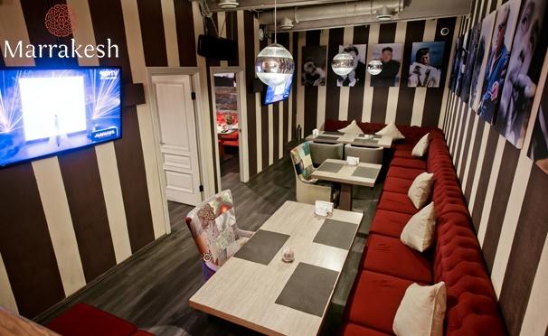 Скидка на Любые блюда и напитки в ресторане «Марракеш» на Кузнецком мосту со скидкой 50%