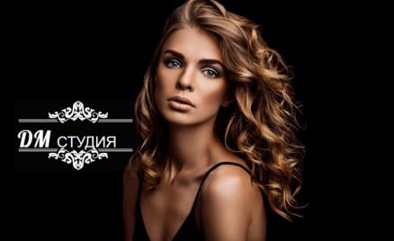 Уход за волосами в салоне красоты DM