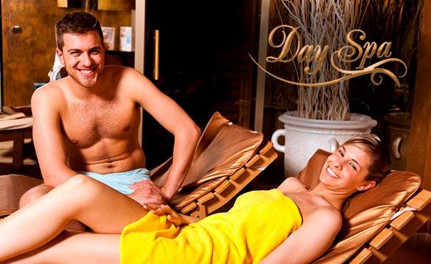 Скидка на Спа-программы с обертыванием, массажем, пилингом и не только в салоне красоты Day Spa. Скидка 50%