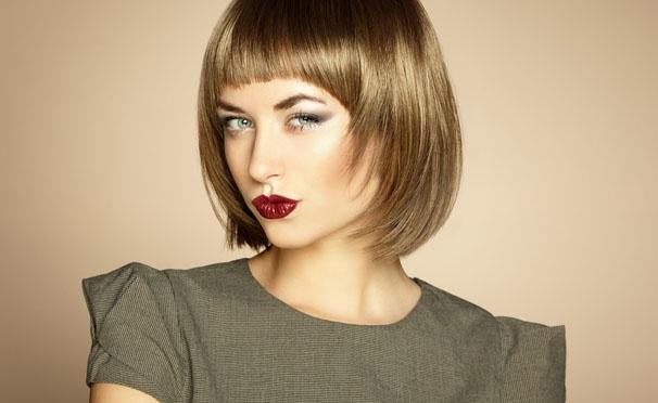 Скидка на Стрижка, укладка, окрашивание, тонирование или мелирование, spa-экранирование и кератиновое выпрямление волос в салоне «Подиум». Скидка до 75%