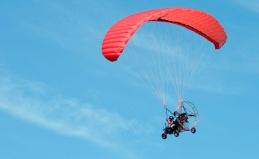 Полет на паратрайке с инструктором