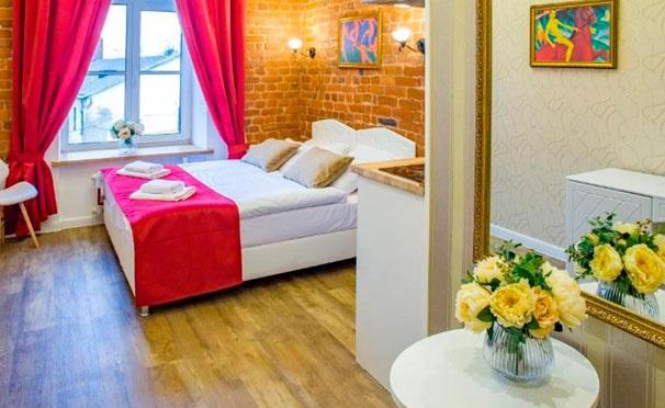 Скидка на От 2 дней отдыха для двоих с питанием в апарт-отеле «Петровский Арт Лофт» в Санкт-Петербурге. Скидка 30%