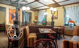 Французские кафе «Крепери Де Пари»