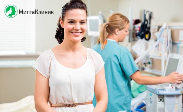 Скидка на Скидка 82% на гинекологическое или урологическое обследование в «Милта Клиник»: прием врача, УЗИ, анализы ПЦР, анализ крови, мазки и не только!