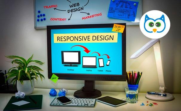 Скидка на Создание сайта или мобильного приложения + продвижение бизнеса в соцсетях от компании Owl Website. Скидка до 90%
