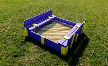 Деревянные песочницы для детей