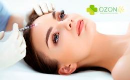 Озонотерапия или УЗ-чистка лица