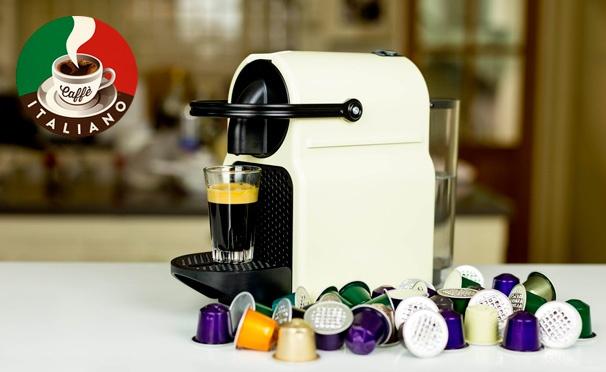 Скидка на Капсулы для кофемашин Nespresso и зерновой кофе различных вкусов в интернет-магазине Caffe Italiano. Скидка до 62%