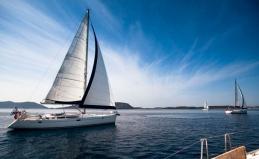 Прогулка на парусной яхте, обучение