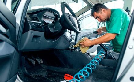 Химчистка салона и полировка авто