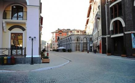 Отель «Горки Город» в Красной Поляне