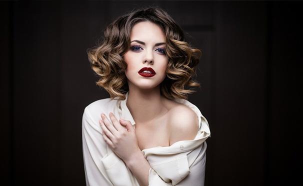 Скидка на Скидка до 66% на макияж и прическу любой сложности в парикмахерской «Диана» на Борисовских прудах