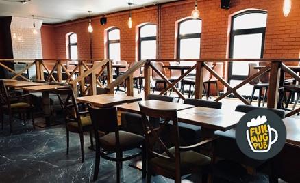 Отдых в ресторане Full Mug Pub