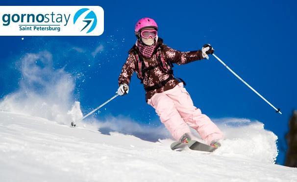 Скидка на Обучение катанию на сноуборде или горных лыжах на тренажере для взрослых и детей в клубе Gornostay. Скидка до 67%