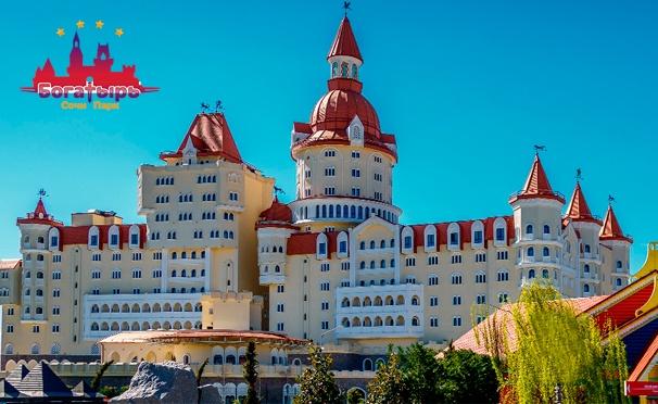 Скидка на Скидка до 45% на отдых для двоих в номере «Стандарт улучшенный» в отеле «Богатырь» в Сочи: питание, открытый бассейн и не только!