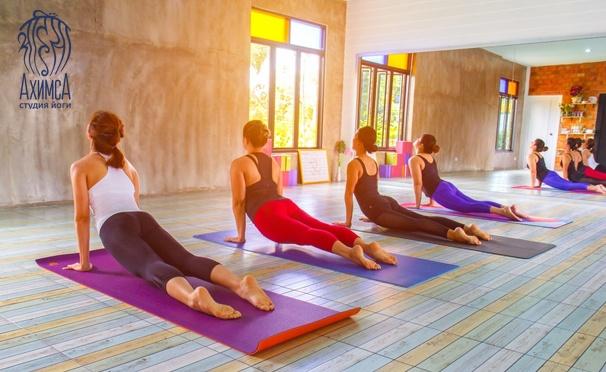 Скидка на Стретчинг или пилатес в студии йоги «Ахимса». Скидка 40%