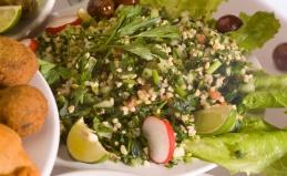 Блюда и напитки в ресторане «Султан»