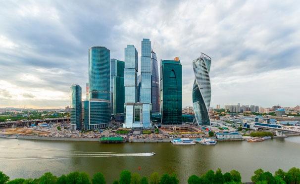 Скидка на Посещение смотровой площадки «Москва-Сити» на 75 этаже от компании Vision. Скидка 50%