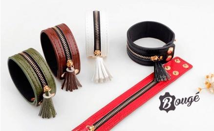 Кожаные браслеты от магазина «Буже»
