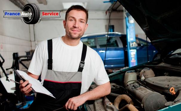 Скидка на Скидка до 86% на диагностику и техническое обслуживание автомобиля, шиномонтаж в автосервисе «ФрансАвтоСервис»