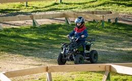Катание на детских квадроциклах