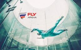 Полет в аэротрубе Fly Arena