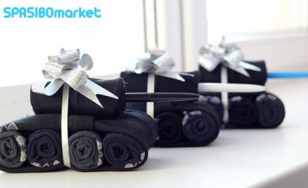 Кейсы с носками от SpasiboMarket