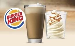 Ванильное мороженое в Burger King