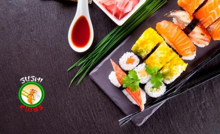 Роллы и пицца от Sushi-Clubs