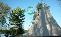 Лесной отель «Папоротник» в Карелии