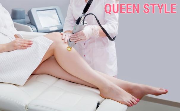 Скидка на Elos-эпиляция, Elos-лечение акне, удаление пигментных пятен, Elos-омоложение, LPG-массаж в сети салонов Queen-Style. Скидка 85%