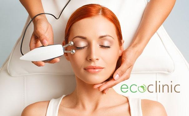 Скидка на Косметология в ЕcoClinic: чистка лица и ионофорез, микротоковая терапия, дарсонвализация. Скидка до 52%